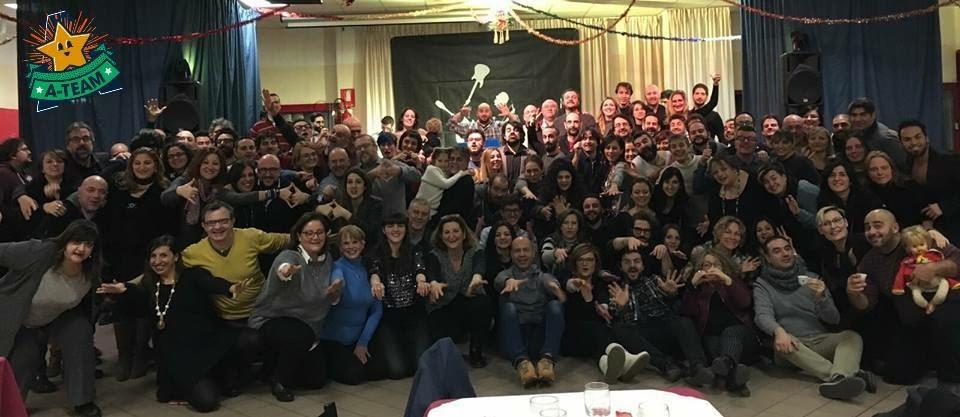 I partecipanti all'edizione 2017 del Cantiere d'Inverno